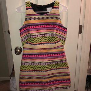 Colorful Sleeveless Milly Dress